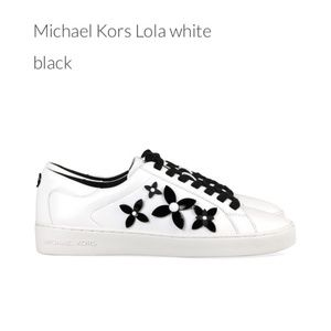 Michael Michael Kors Lola Lace-up Leather Sneaker